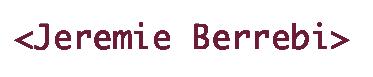 Jeremie Berrebi Blog